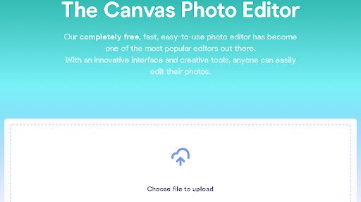 canvas photo editor