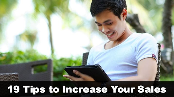 tips to increase sales