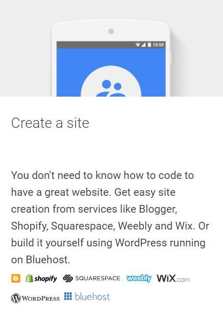 create-a-site