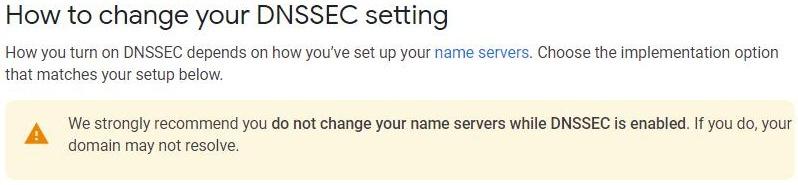 dnssec-setting
