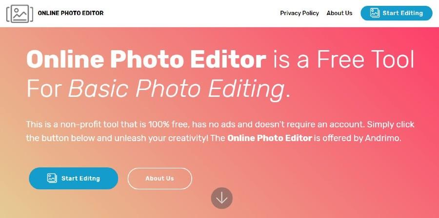 Online Photo Editor