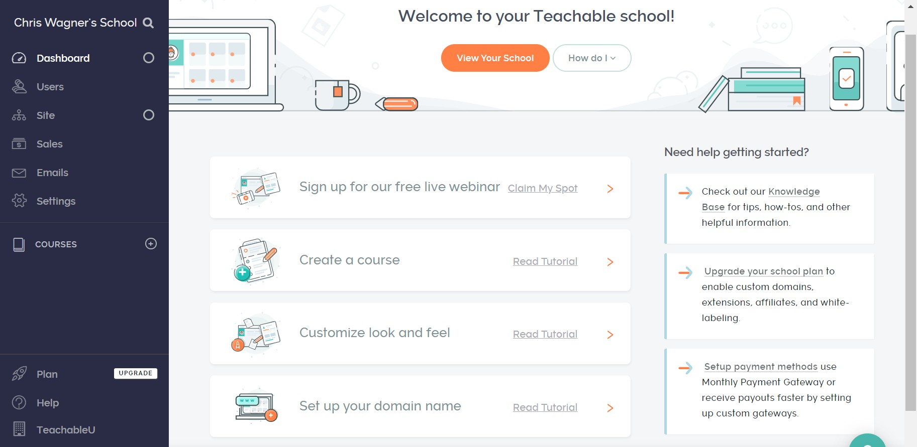 teachable-ease-dashboard
