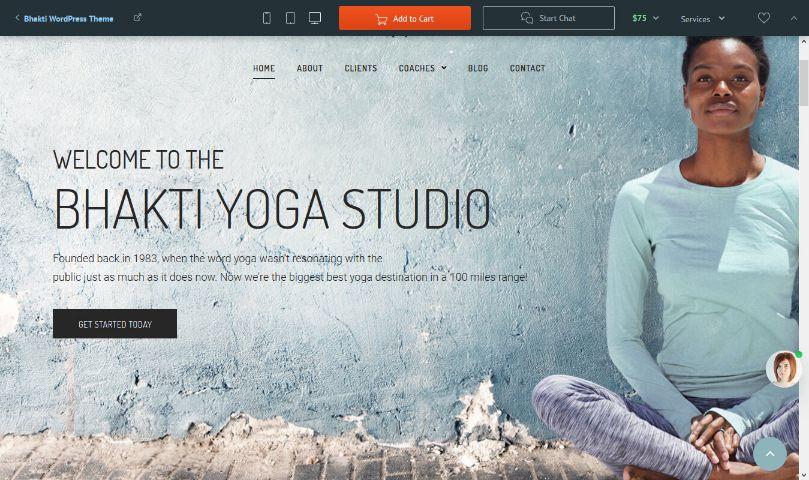 bhakti yoga live demo