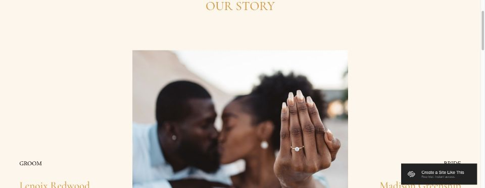 Our Story — MADISON LENOIX