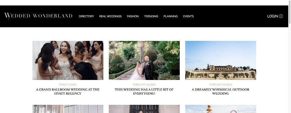 Real Weddings Archives - Wedded Wonderland